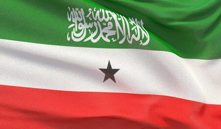 Background with flag of Somaliland