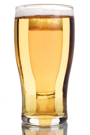 2 beer glasses photo