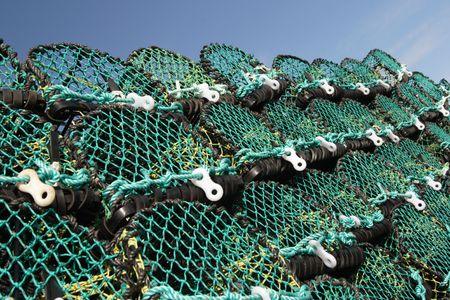 crab nets Stock Photo - 340243