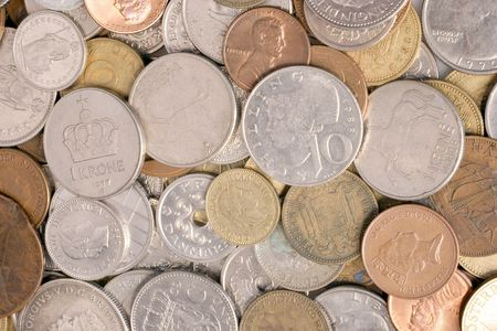 assorted coins photo