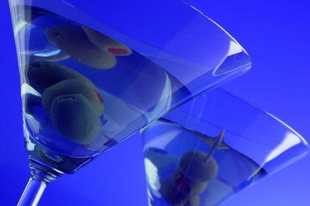 palmetto: double martini Stock Photo