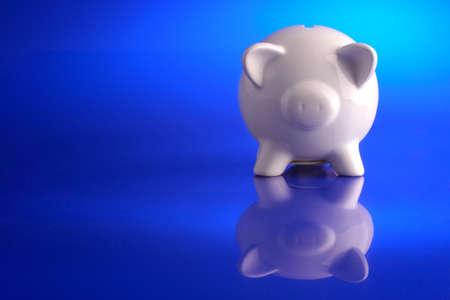 cuenta bancaria: Hucha de ahorro  Foto de archivo