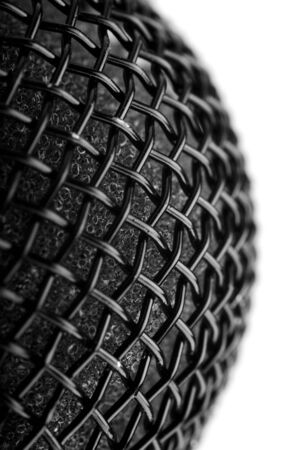 abstract macro of a microphone photo