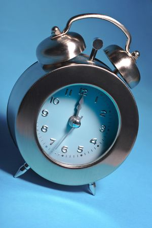 seconds ticking away to either midnight or midday