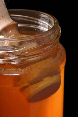 anti bacterial: jar of honey, traditional remedy