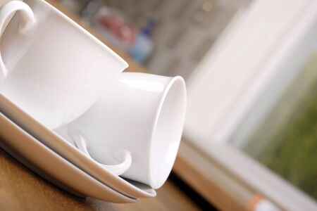 tea for two, shallow depth of field photo
