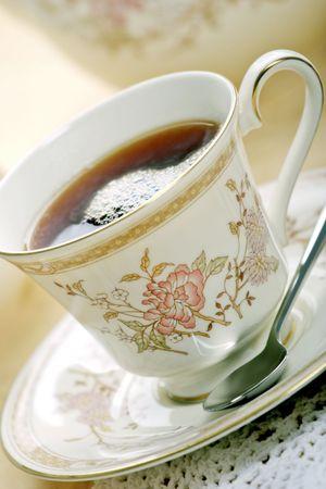tea cup and saucer Stock Photo - 900590