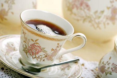 tea cup and saucer Stock Photo - 900591