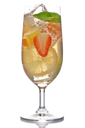 cocktail de fruits: D�licieux cocktail de fruits