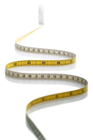 cintas metricas: cinta m�trica  Foto de archivo