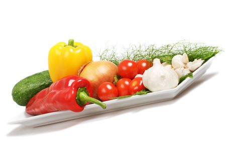 an assortment of mouth watering vegetables suitable for any table. photo