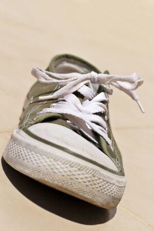 worn sneaker, sooooooooo comfortable Stock Photo - 1416848