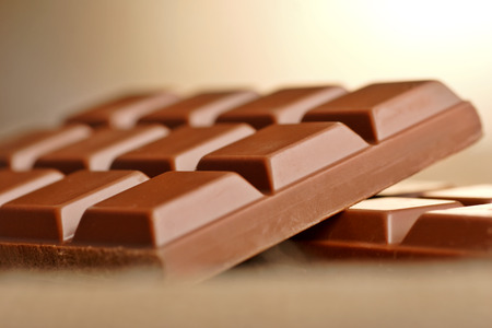 delicious milk chocolate bar, eat me. photo