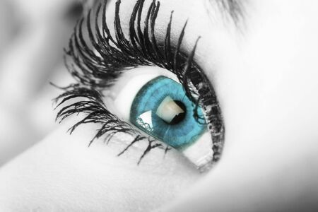 guileless: enchanting blue eye