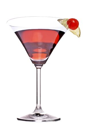 thirst quenching: bacardi cocktail, with grenadine, lime juice and bacardi light rum
