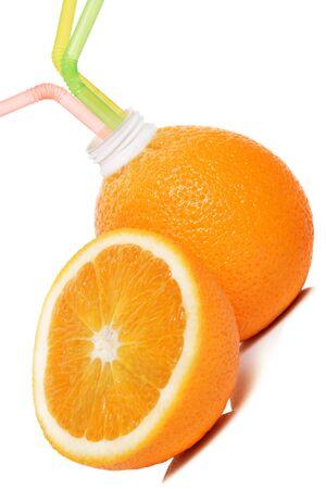 deliciously: deliciously fresh orange juice Stock Photo