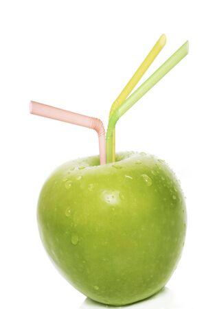 deliciously: deliciously fresh apple juice