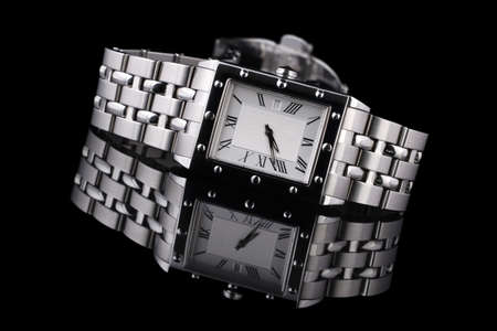 mans watch: Mans reloj cl�sico y moderno dise�o.