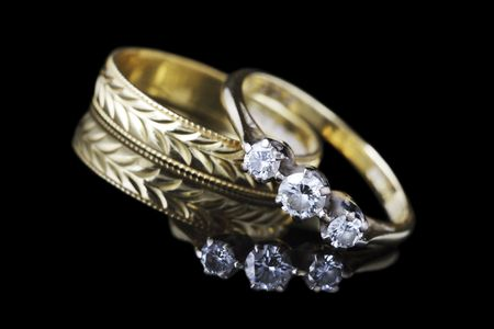 wedding ring: bodas de oro y anillo de compromiso
