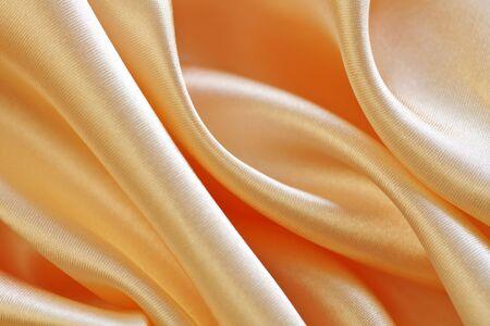 silken: beautiful soft silken fabric with sumptuous folds Stock Photo