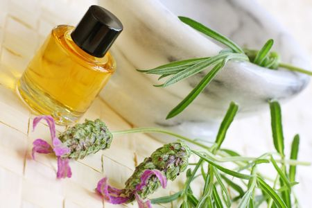 fresh ground  lavender for aromatherapy oils Stock Photo - 3585177