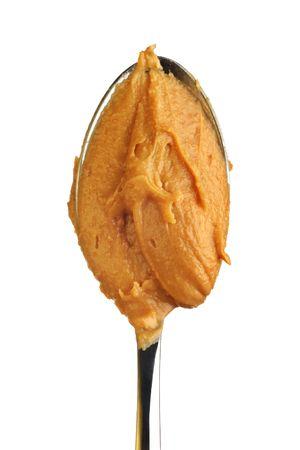 peanut butter: spoon full of peanut butter