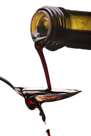 meting van de balsamico azijn