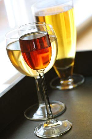 bebidas alcoh�licas: diversas bebidas alcoh�licas