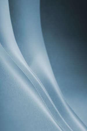 notelet: blue folds of paper Stock Photo