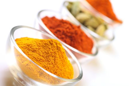 seedpod: cardamom seedpods and spices
