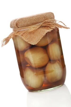homemade pickled onions photo