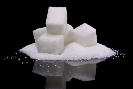 sugar: granulated and sugar cubes