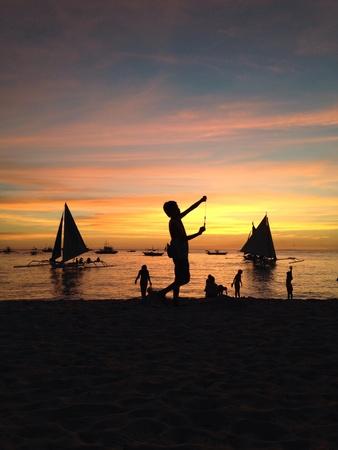 unedited: Photo taken using phone cam. No filter, no app, unedited.  Boracay Aklan Philippines