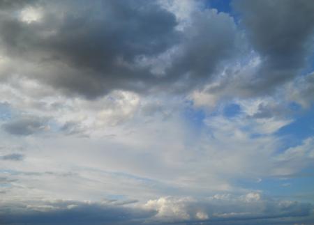 landscape, clouds