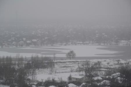 Chernihiv, top view