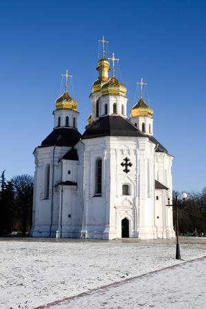 Catherine church in Chernigov