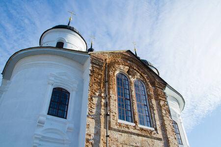 Church on the territory of the Annunciation Monastery in Nezhin, Ukraine.