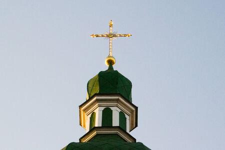 sacred trinity: church Stock Photo