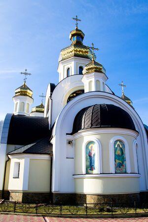 St. Nicholas Church in Chernigov, Ukraine Stock Photo