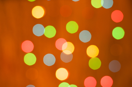 Bright festive background in the form of a multicetal bokeh