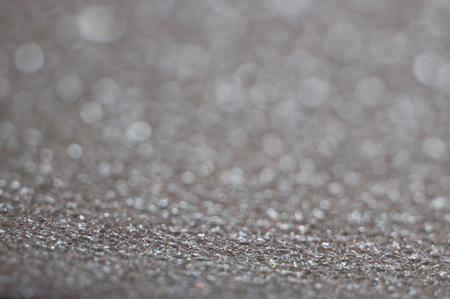 Gray bokeh, background with space for text Stock Photo