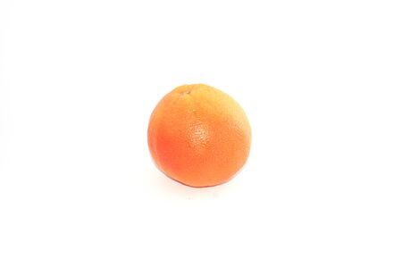 Grapefruit on white background isolate, copy space Banque d'images - 133528661