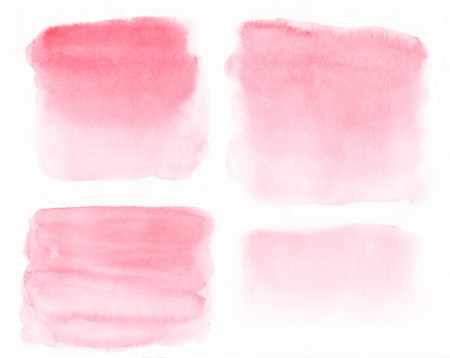 light pink: Abstract painted watercolor background on paper texture