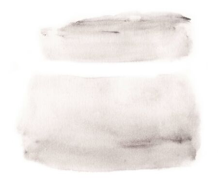 rounded rectangle: Watercolor grays blank rounded rectangle shape on white background