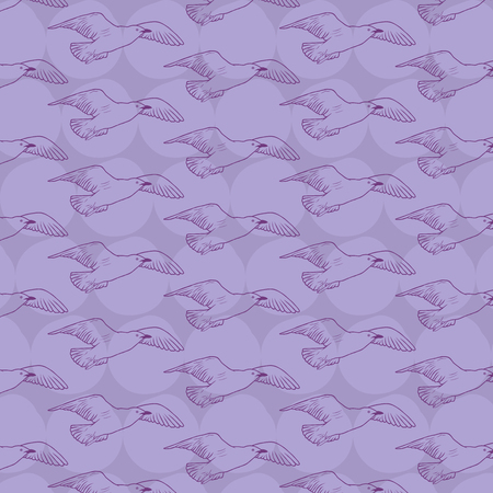 mew: Pattern birds for background