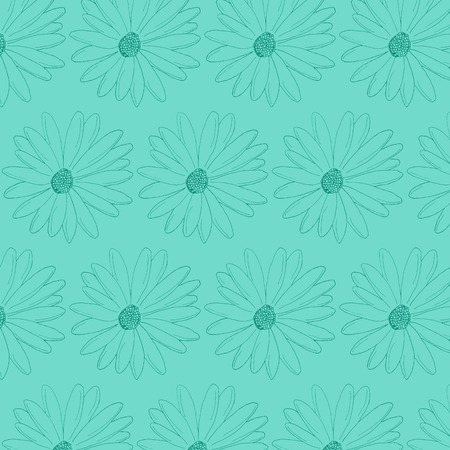 celadon: Camomile flowers pattern celadon