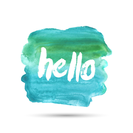 good looking: Hello. The hand drawn letters. Lettering and typographic design.
