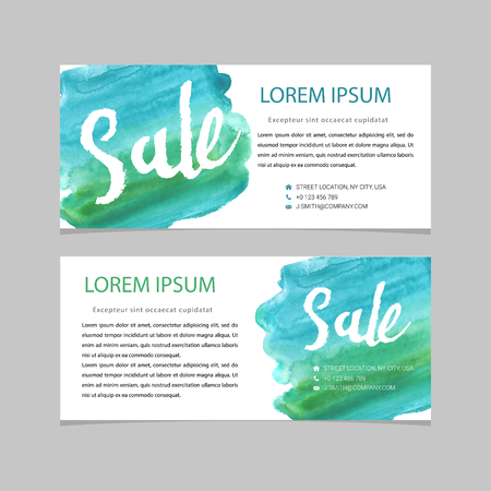sellout: Set of sale banners design. Vector illustration Illustration