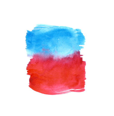 ombre: Watercolor Ombre Background. Watercolor Wash. Ombre Watercolor Background Stock Photo