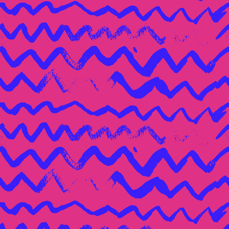 Waves pattern. Abstract wavy background in vector